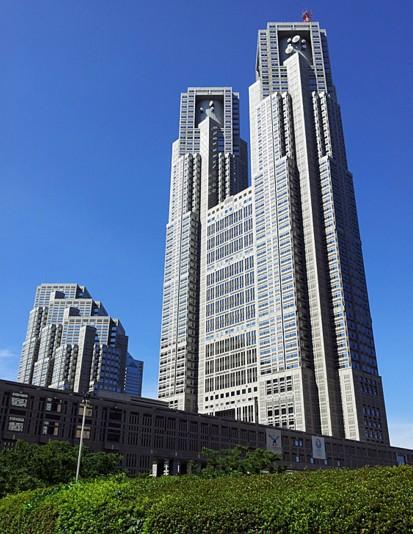 東京都庁-都知事選