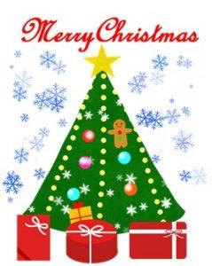 クリスマスカード無料