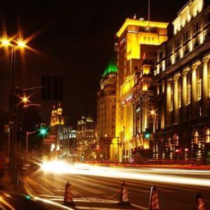 琥珀色の街、上海