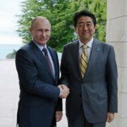安倍首相 プーチン会談
