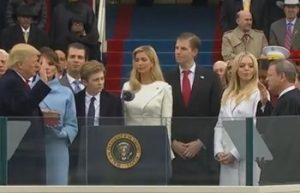 トランプ大統領就任式