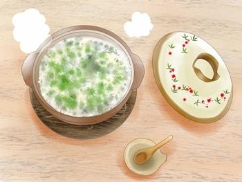 七草がゆのイラスト
