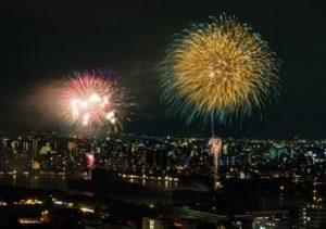 大濠花火大会の写真