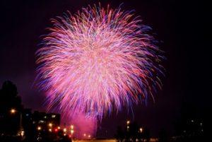豊平川花火大会の写真