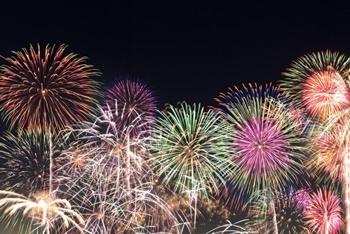 成田花火大会の写真