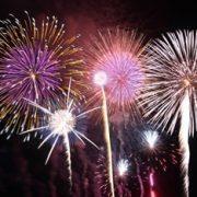 ふじさわ江の島花火大会の写真