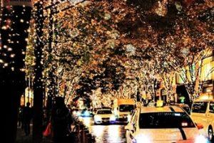 クリスマス東京駅周辺デート画像